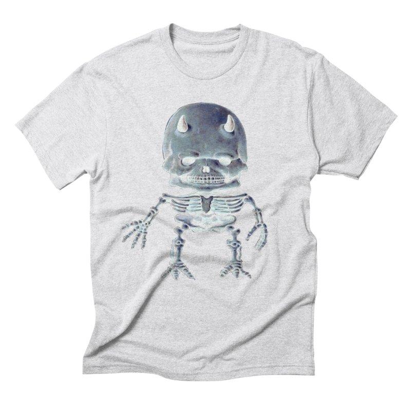 Luey Skeletal Inverted  Men's Triblend T-Shirt by Bob Dob