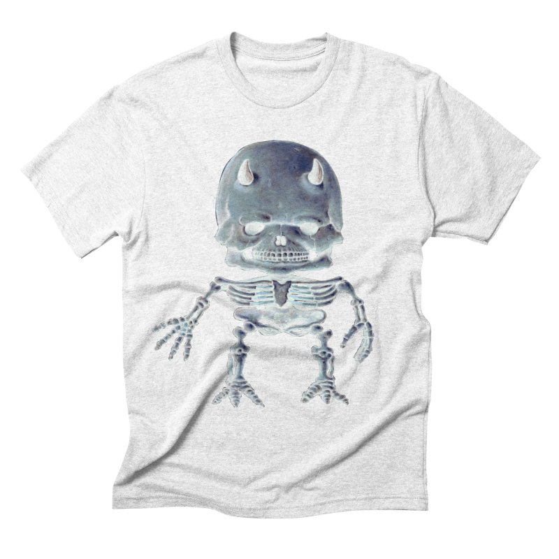 Luey Skeletal Inverted  Men's Triblend T-shirt by Bob Dob