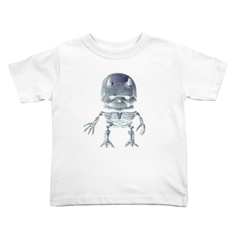 Luey Skeletal Inverted  Kids Toddler T-Shirt by Bob Dob