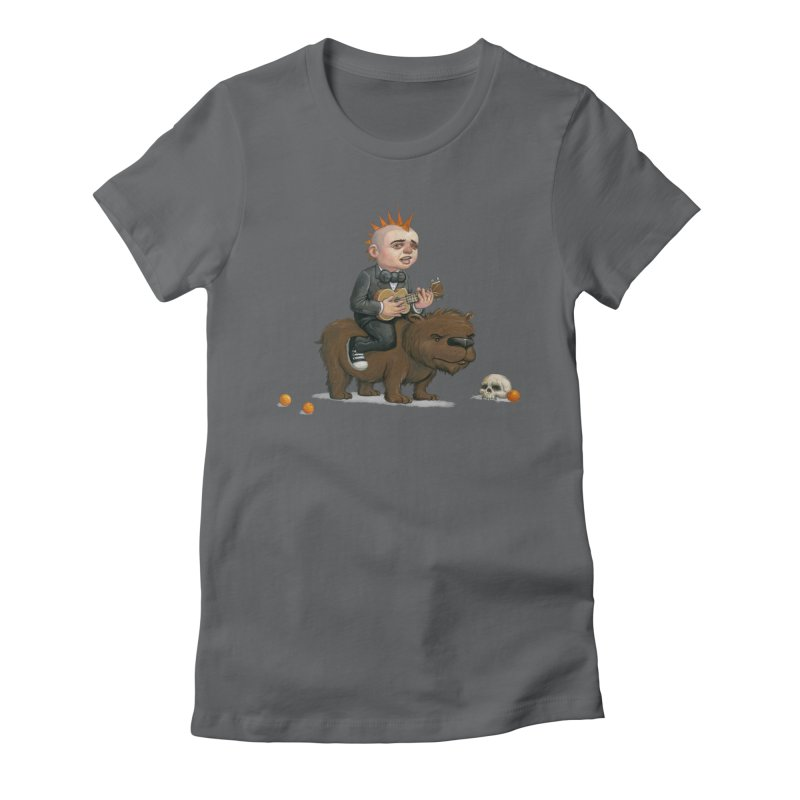 California Here I Come Women's Fitted T-Shirt by Bob Dob