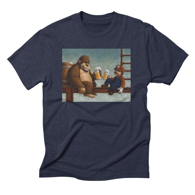 Cheers Men's Triblend T-shirt by Bob Dob
