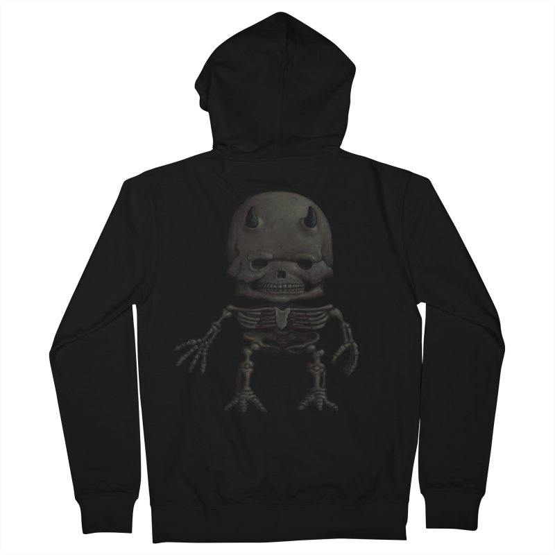 Luey Skeletal Men's Zip-Up Hoody by Bob Dob