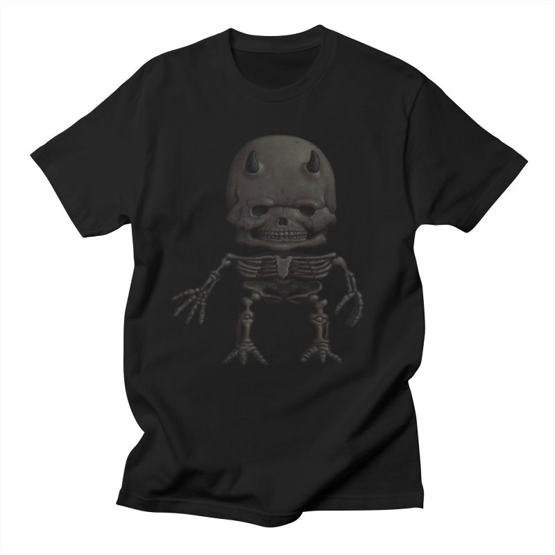 Luey Skeletal in Men's Regular T-Shirt Black by Bob Dob