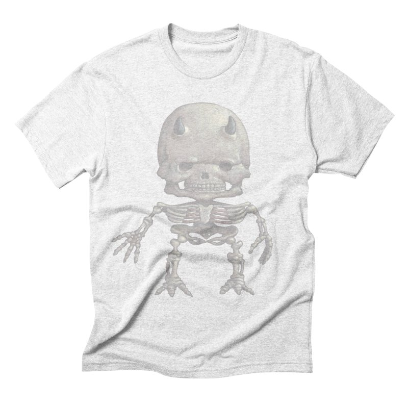 Luey Skeletal Men's Triblend T-shirt by Bob Dob