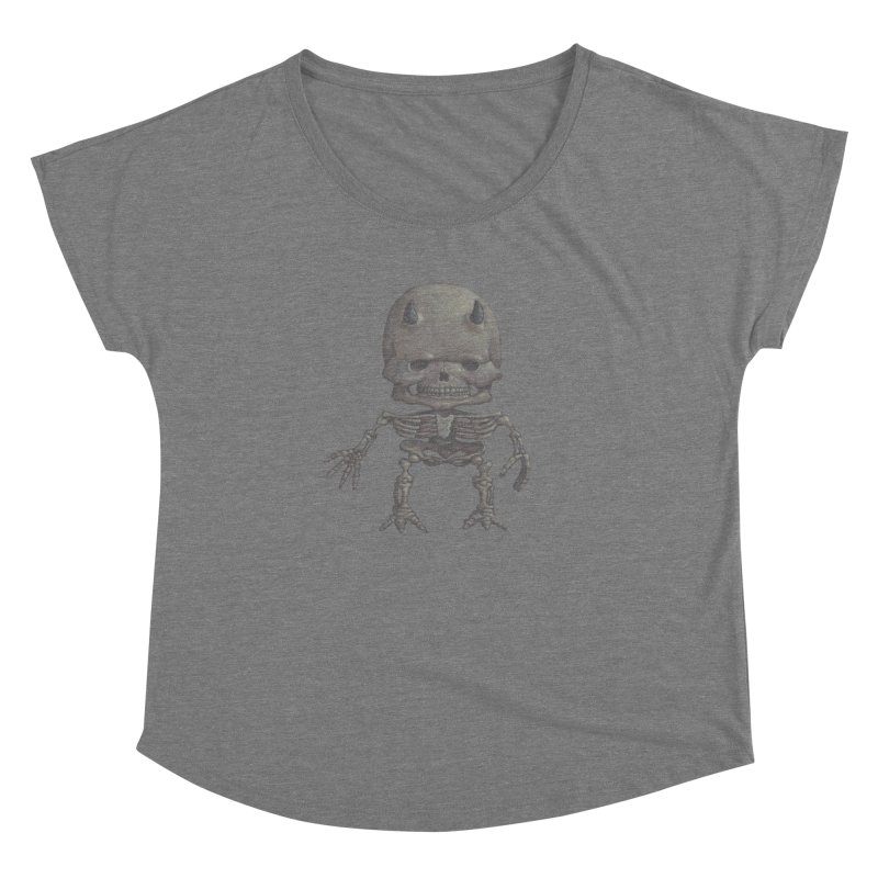 Luey Skeletal Women's Dolman by Bob Dob