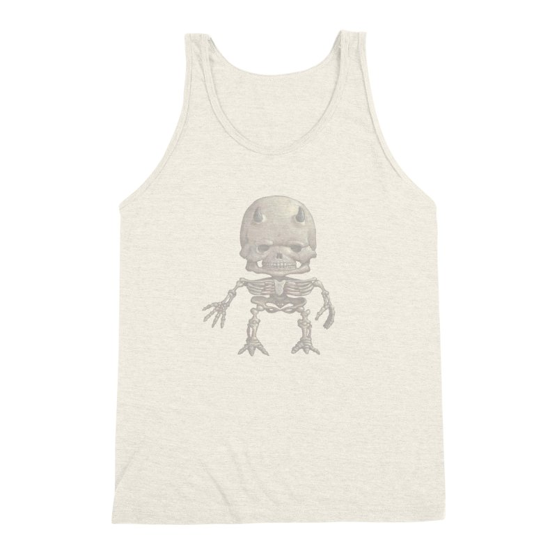 Luey Skeletal Men's Triblend Tank by Bob Dob