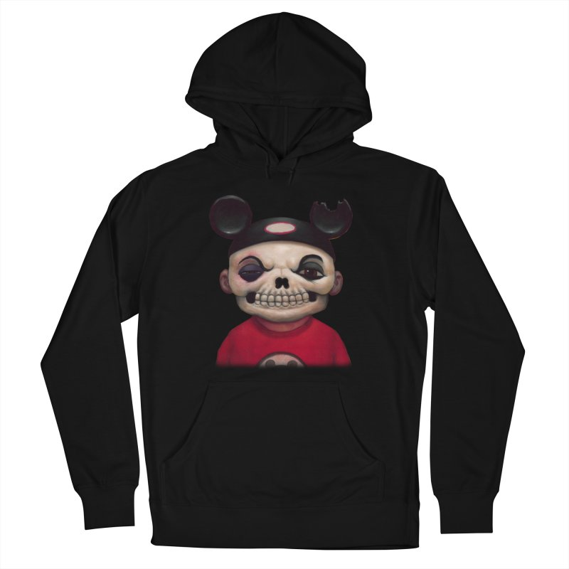 Mouseketeer Skully Women's Pullover Hoody by Bob Dob