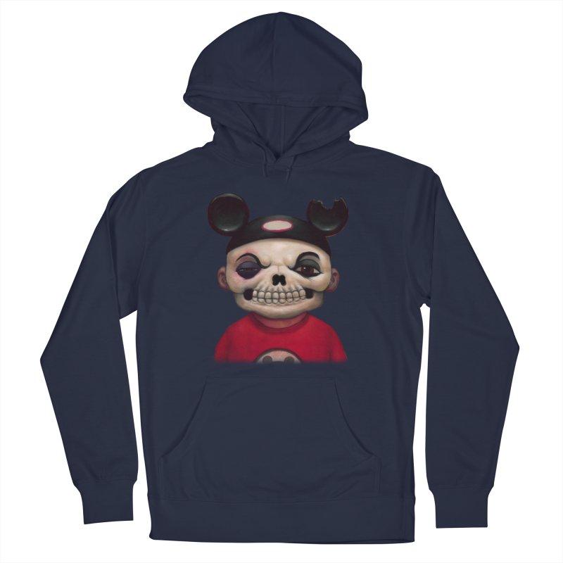 Mouseketeer Skully Men's Pullover Hoody by Bob Dob