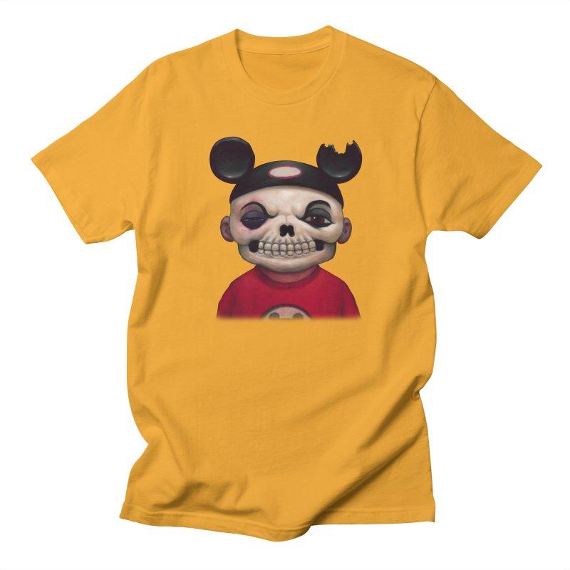 Mouseketeer Skully Men's T-shirt by Bob Dob