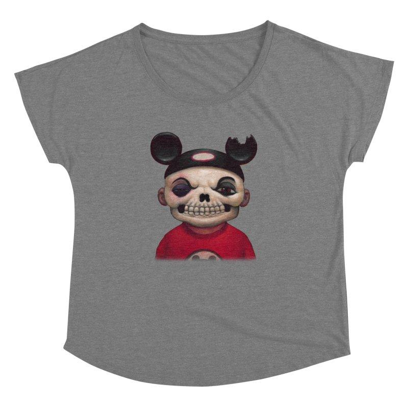 Mouseketeer Skully Women's Dolman by Bob Dob