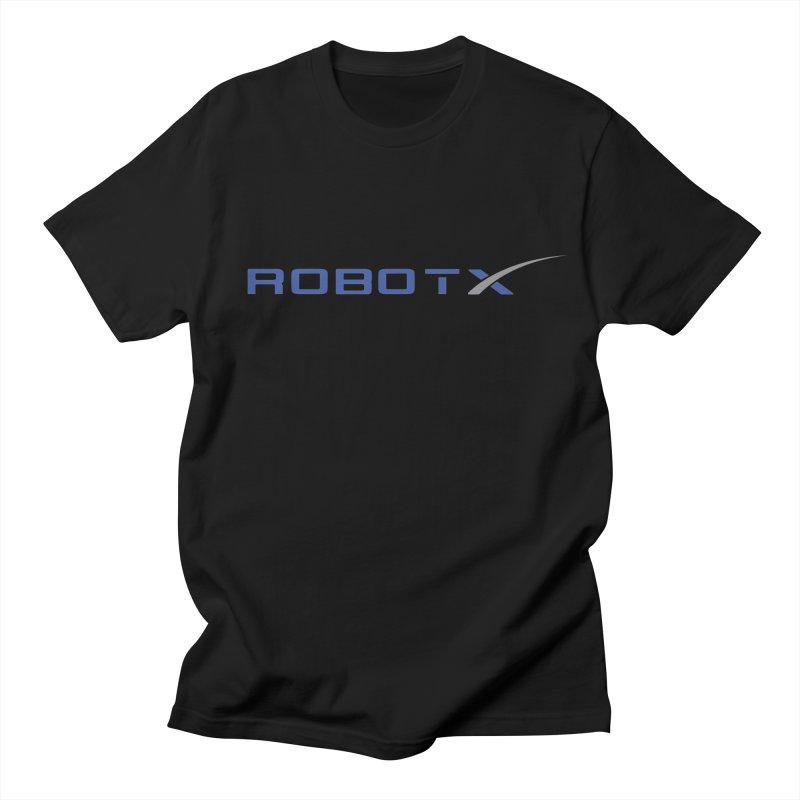 Robot X Men's T-shirt by Bob Dob