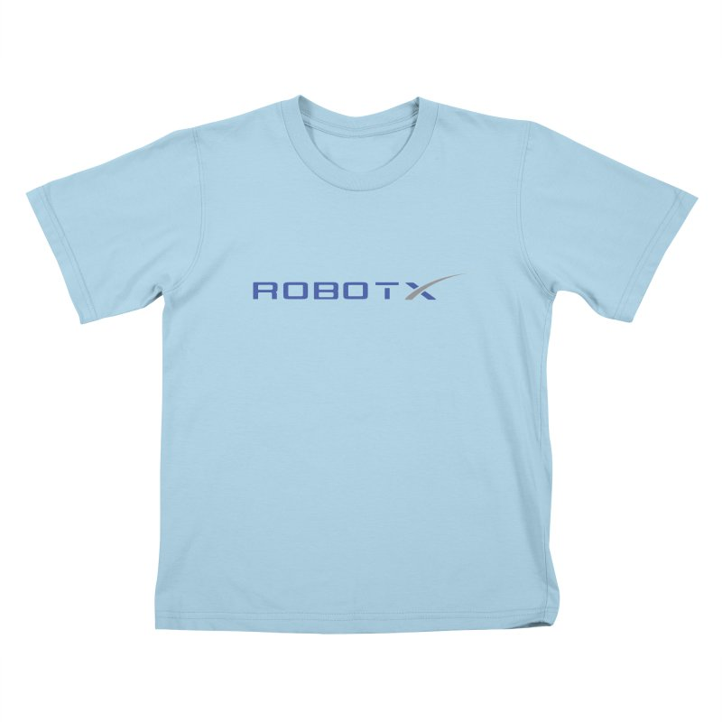 Robot X Kids T-shirt by Bob Dob
