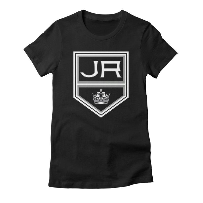 JR Kings Women's Fitted T-Shirt by Bob Dob
