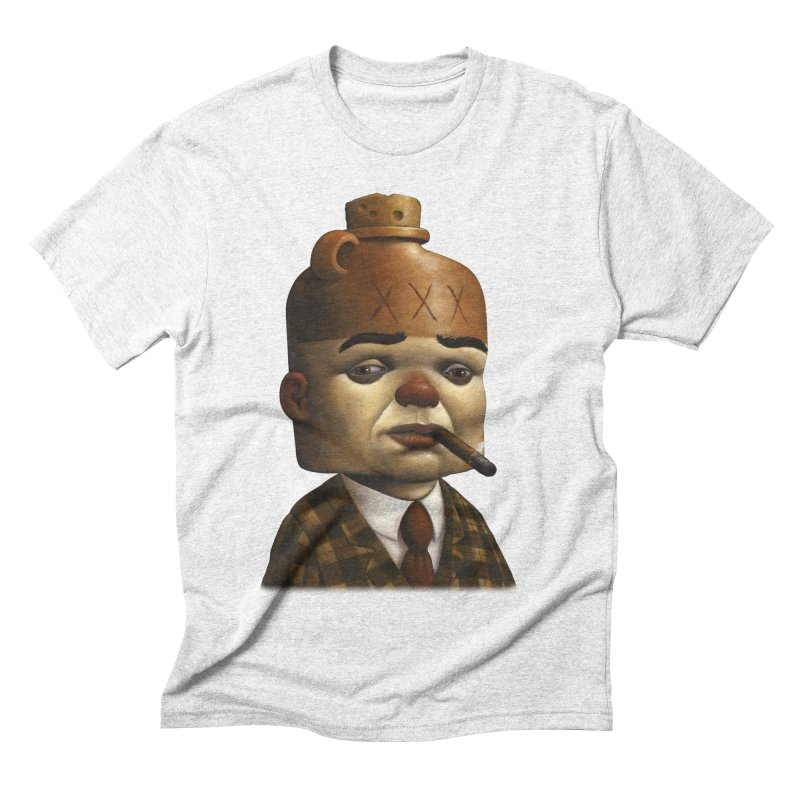 Jug Head Men's Triblend T-shirt by Bob Dob