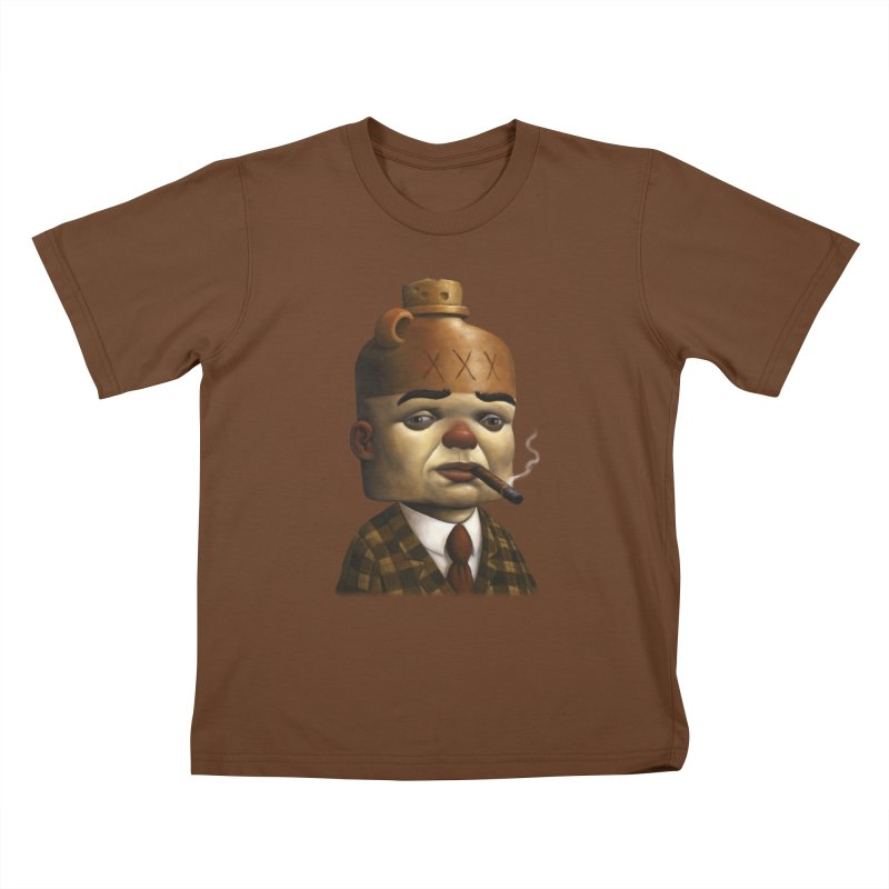 Jug Head Kids T-Shirt by Bob Dob