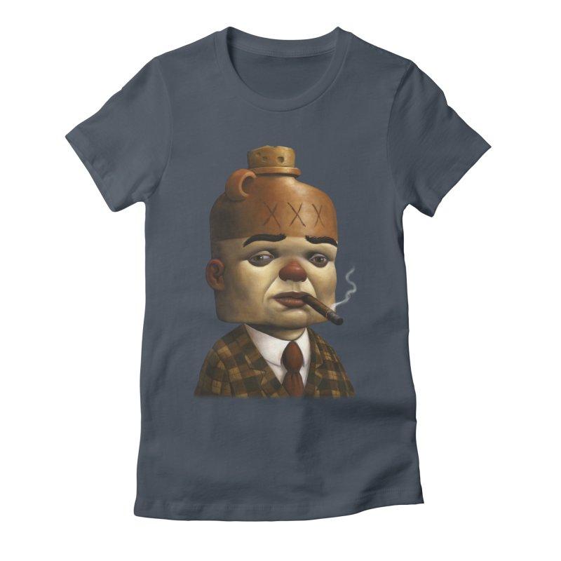 Jug Head Women's Fitted T-Shirt by Bob Dob