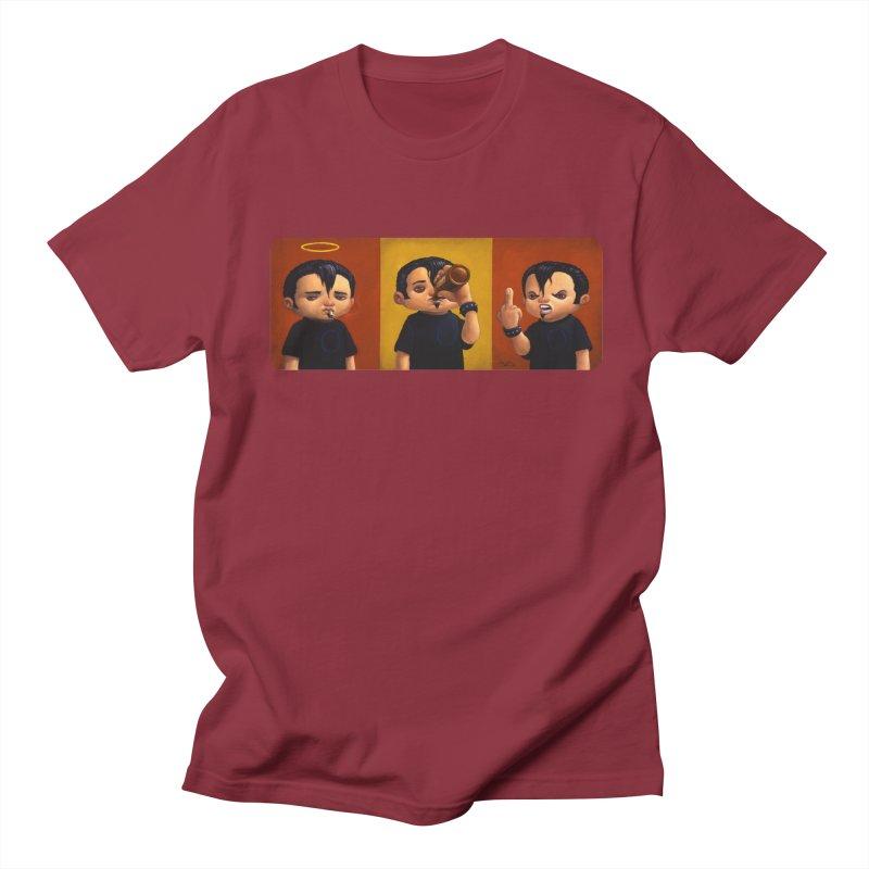 Smoking, Drinking, Raging Men's T-Shirt by Bob Dob