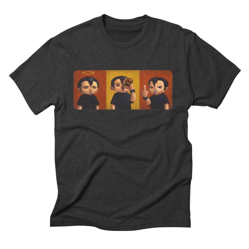 Smoking, Drinking, Raging Men's Triblend T-shirt by Bob Dob