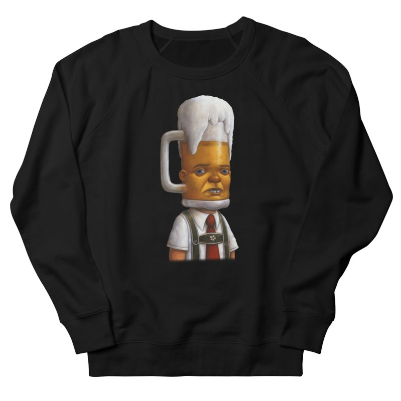 Beer Head Men's Sweatshirt by Bob Dob