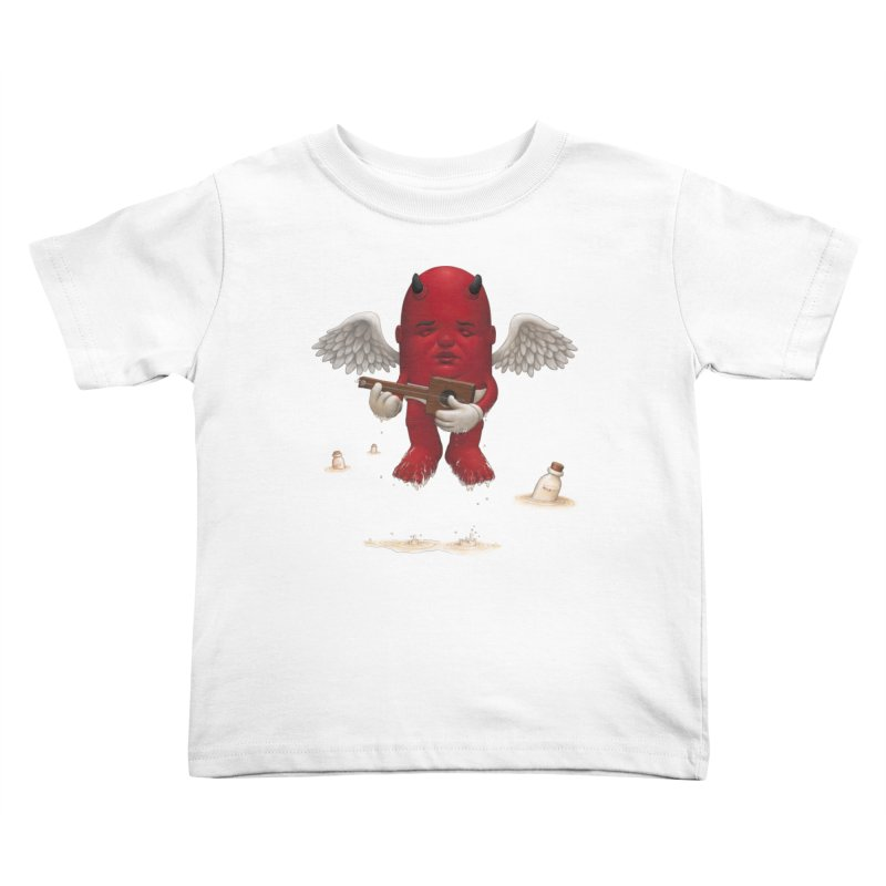 Soothing the Soul Kids Toddler T-Shirt by Bob Dob