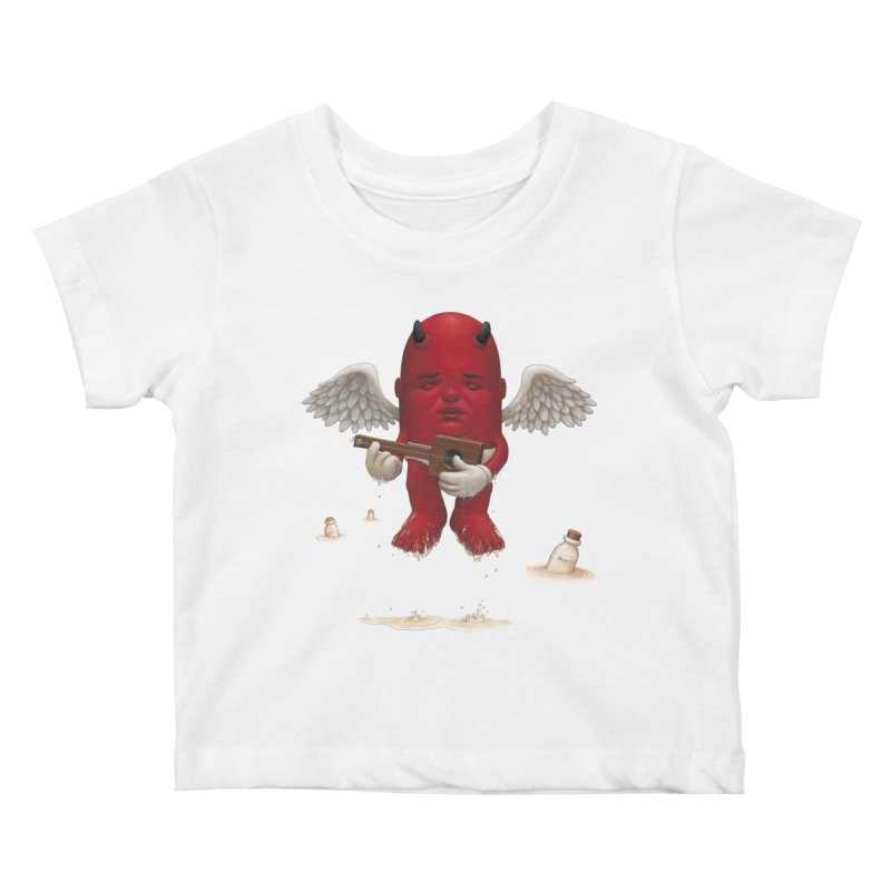 Soothing the Soul Kids Baby T-Shirt by Bob Dob