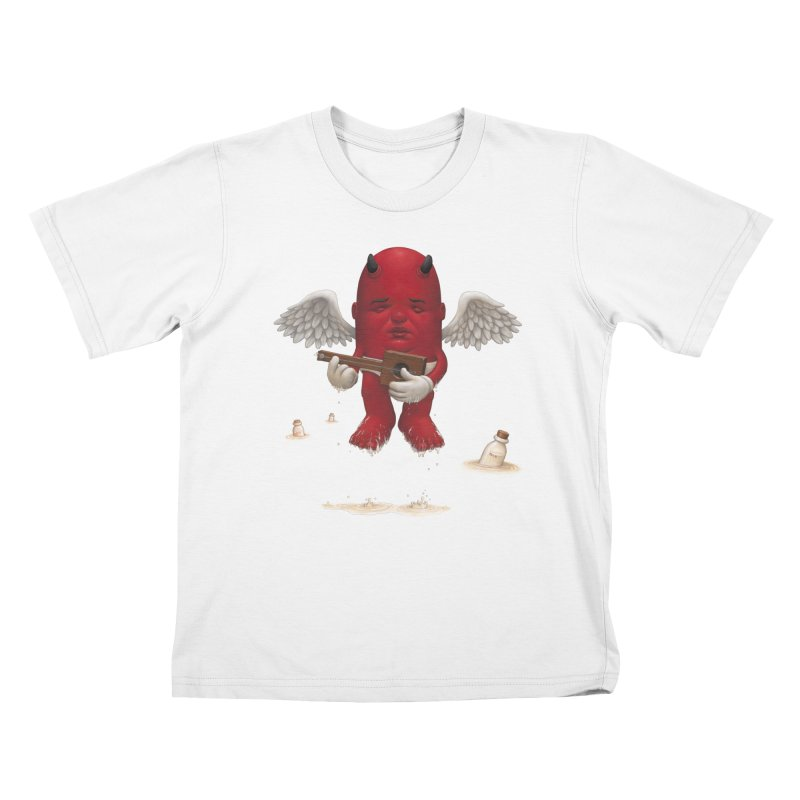 Soothing the Soul Kids T-Shirt by Bob Dob