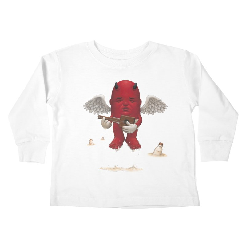 Soothing the Soul Kids Toddler Longsleeve T-Shirt by Bob Dob