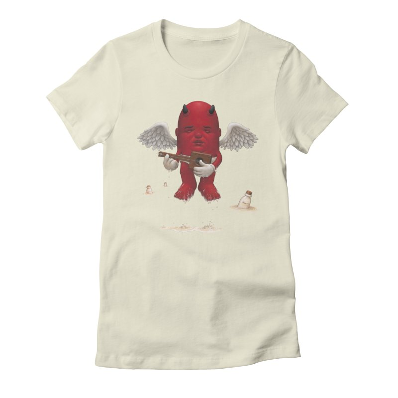 Soothing the Soul Women's Fitted T-Shirt by Bob Dob