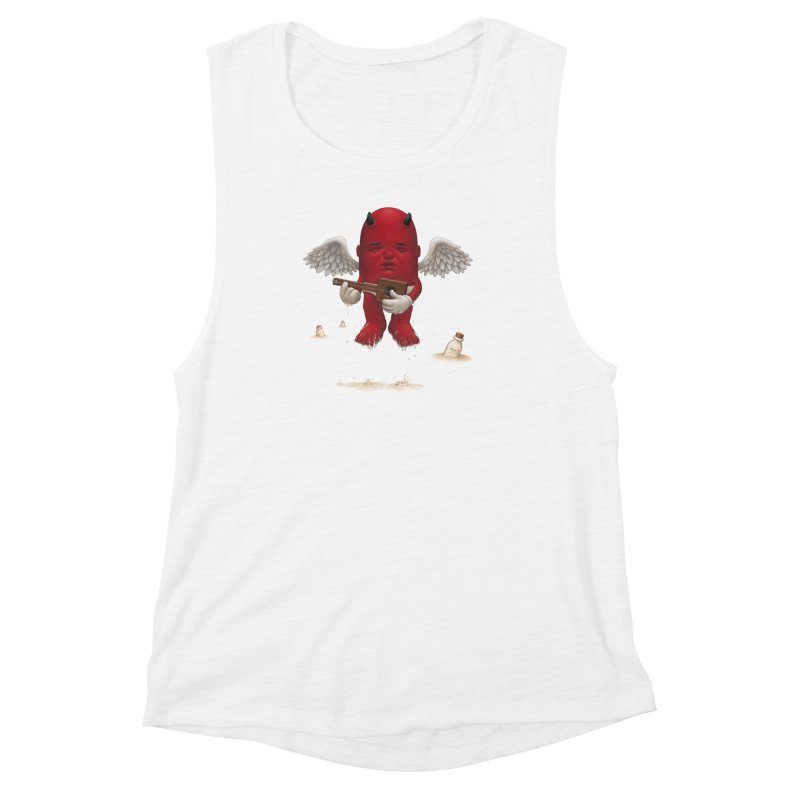 Soothing the Soul Women's Muscle Tank by Bob Dob