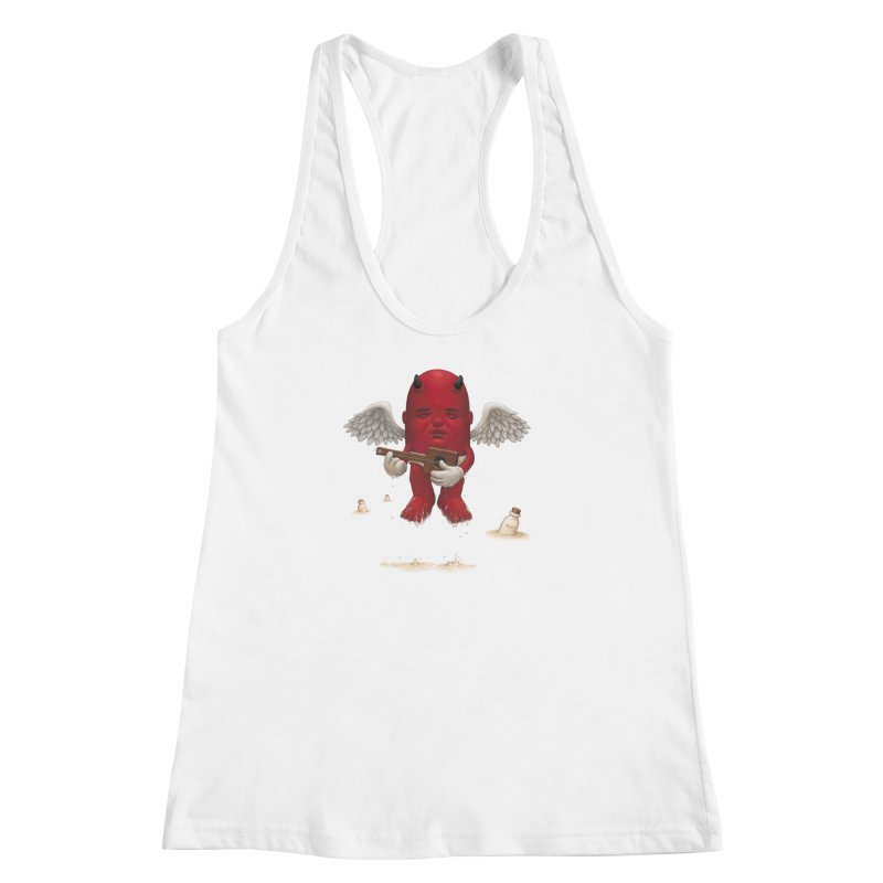 Soothing the Soul Women's Racerback Tank by Bob Dob