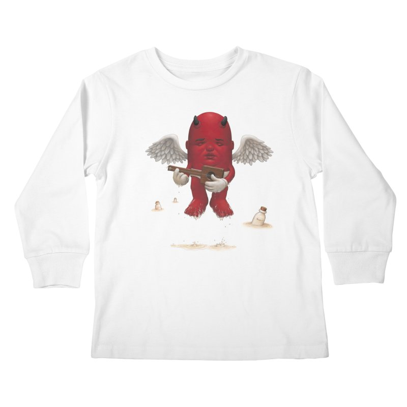 Soothing the Soul Kids Longsleeve T-Shirt by Bob Dob