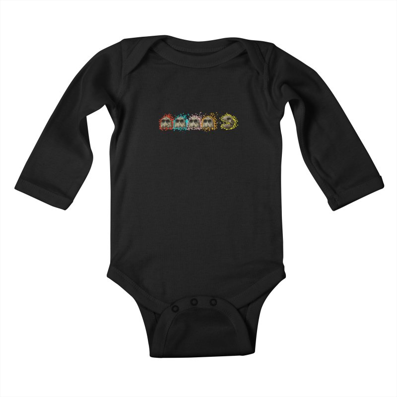 I Want Your Skull Kids Baby Longsleeve Bodysuit by Bob Dob