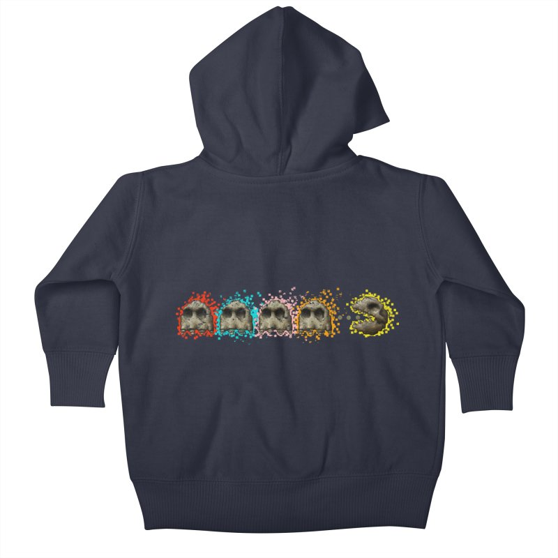 I Want Your Skull Kids Baby Zip-Up Hoody by Bob Dob
