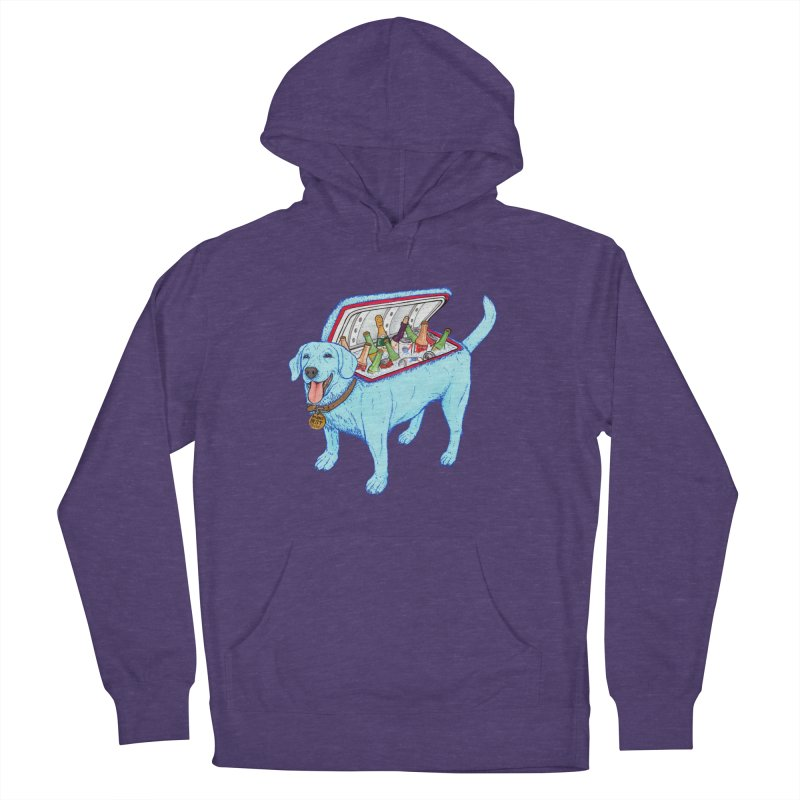 Man's Best Friend Men's French Terry Pullover Hoody by Bob Motown's SUPER SNAZZY Shirt Shack