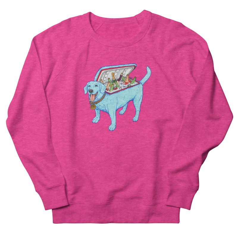 Man's Best Friend Women's French Terry Sweatshirt by Bob Motown's SUPER SNAZZY Shirt Shack