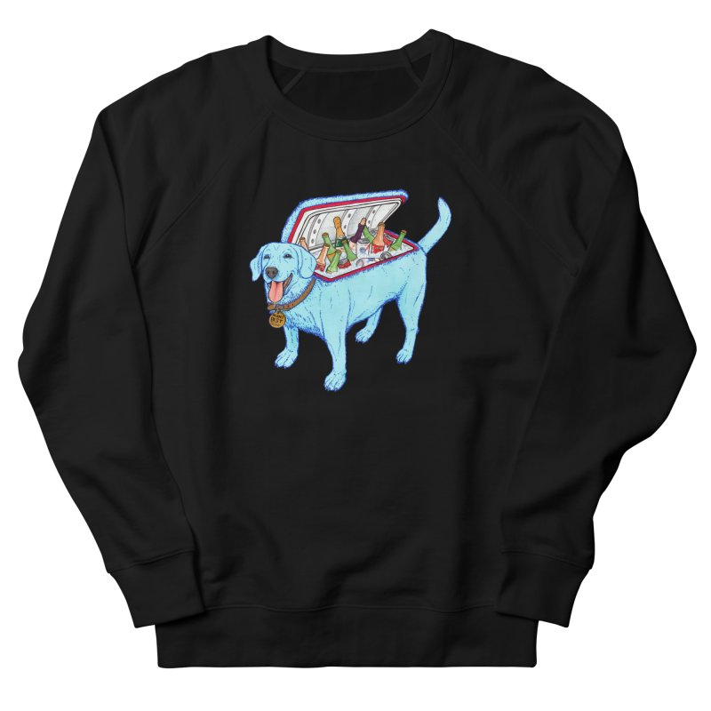 Man's Best Friend Men's French Terry Sweatshirt by Bob Motown's SUPER SNAZZY Shirt Shack