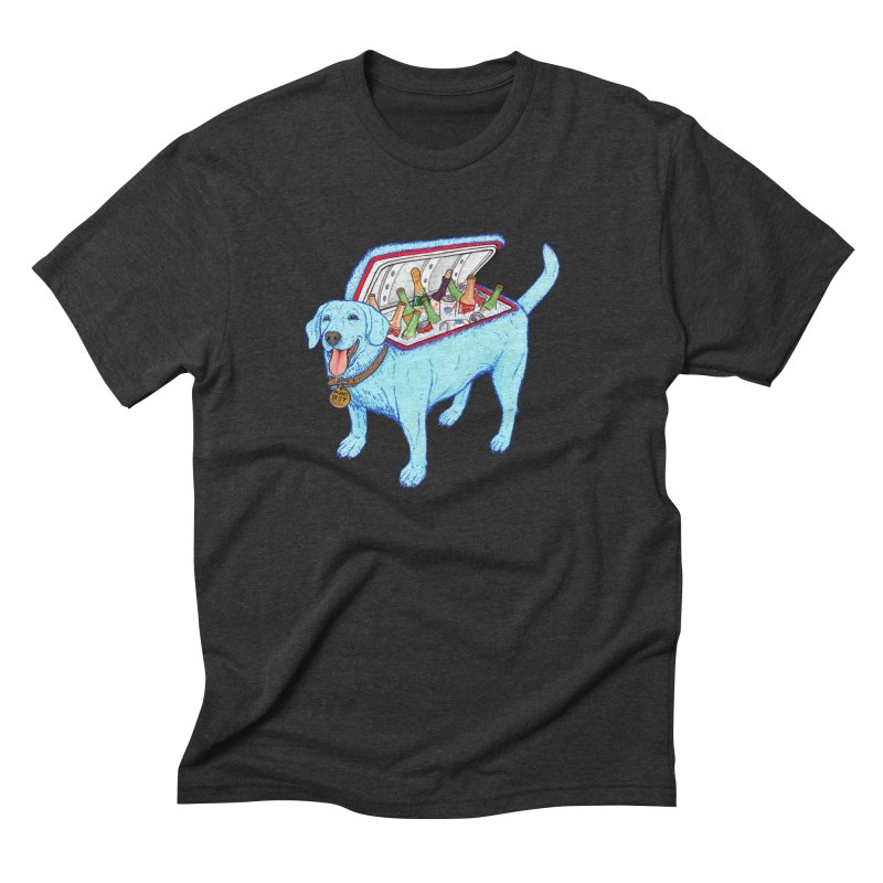 Man's Best Friend Men's Triblend T-Shirt by Bob Motown's SUPER SNAZZY Shirt Shack