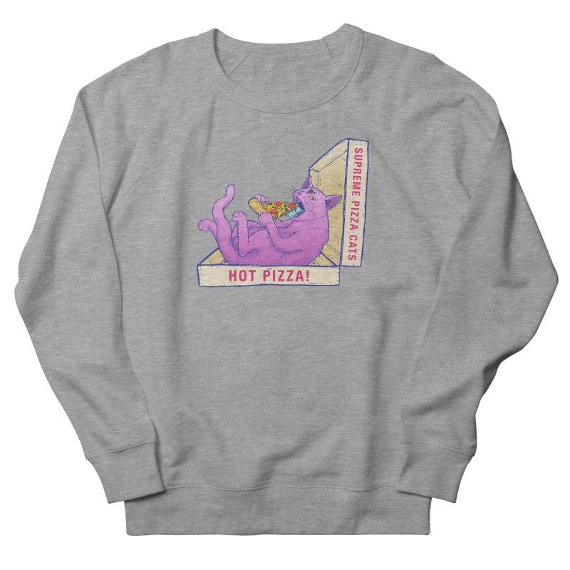 OH HAI!!! Women's French Terry Sweatshirt by Bob Motown's SUPER SNAZZY Shirt Shack