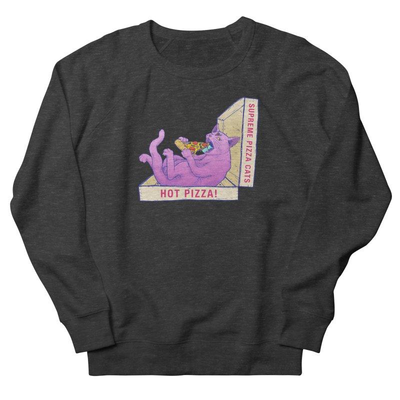 OH HAI!!! Men's French Terry Sweatshirt by Bob Motown's SUPER SNAZZY Shirt Shack
