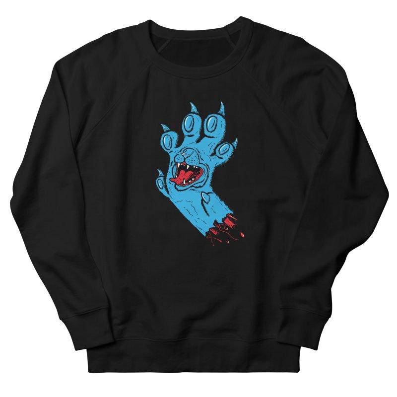 Screaming Paw Women's French Terry Sweatshirt by Bob Motown's SUPER SNAZZY Shirt Shack