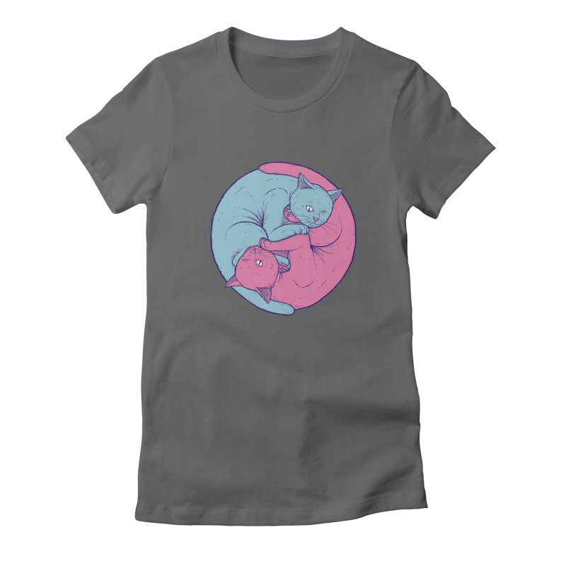 Mewality Women's Fitted T-Shirt by Bob Motown's SUPER SNAZZY Shirt Shack