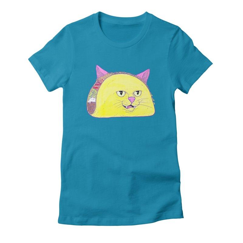 TACOCAT Women's Fitted T-Shirt by Bob Motown's SUPER SNAZZY Shirt Shack