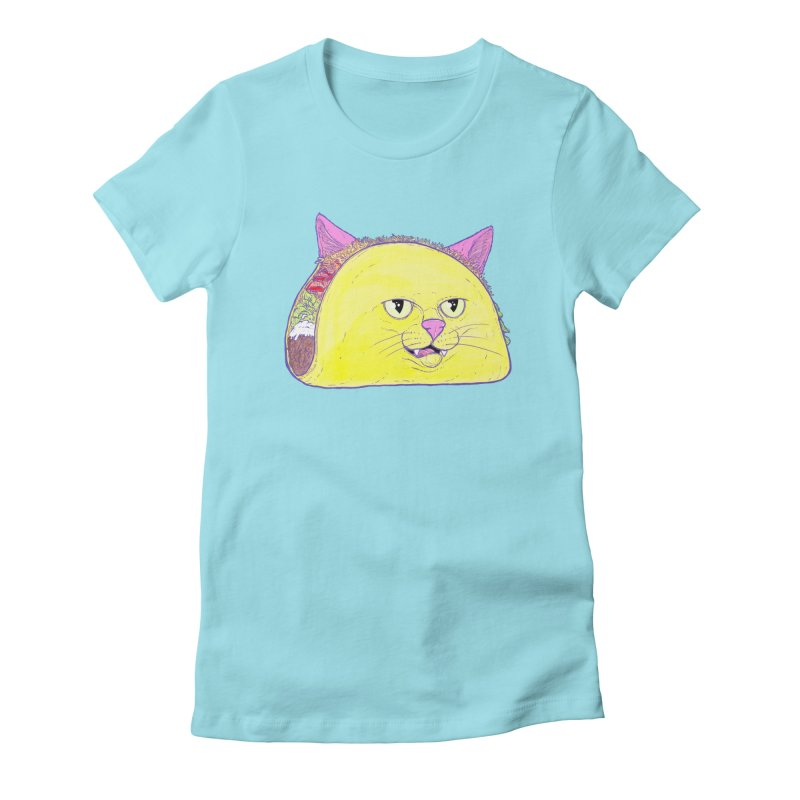 TACOCAT Women's Fitted T-Shirt by Bob Motown's SUPER SNAZZY Shirt Shack