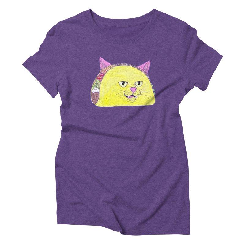 TACOCAT Women's Triblend T-Shirt by Bob Motown's SUPER SNAZZY Shirt Shack