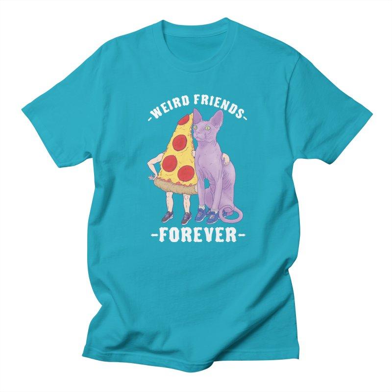 WEIRD FRIENDS FOREVS Men's Regular T-Shirt by Bob Motown's SUPER SNAZZY Shirt Shack