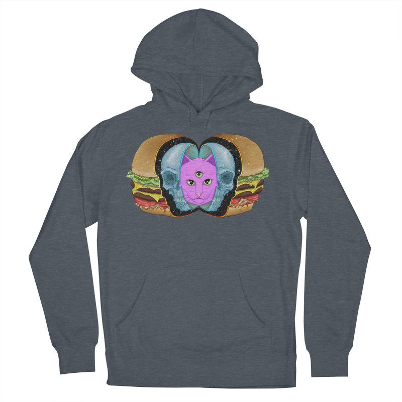 The Delicious, The Dead, & The Woke AF Women's French Terry Pullover Hoody by Bob Motown's SUPER SNAZZY Shirt Shack