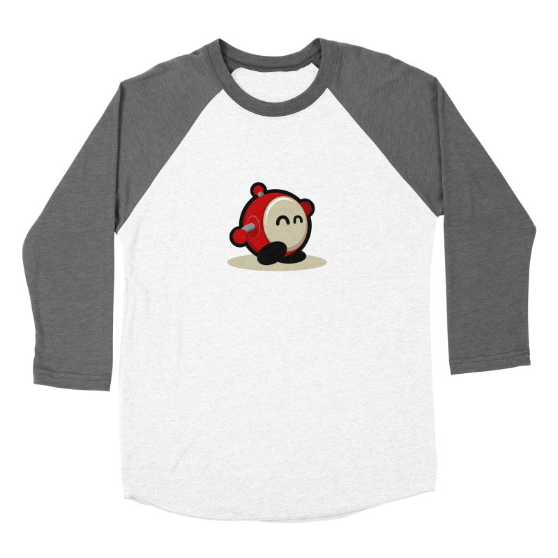 bobo the robo Men's Baseball Triblend T-Shirt by bobo the robo shop
