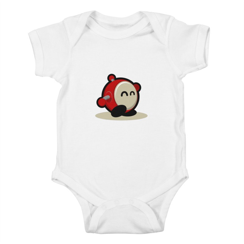 bobo the robo Kids Baby Bodysuit by bobo the robo shop