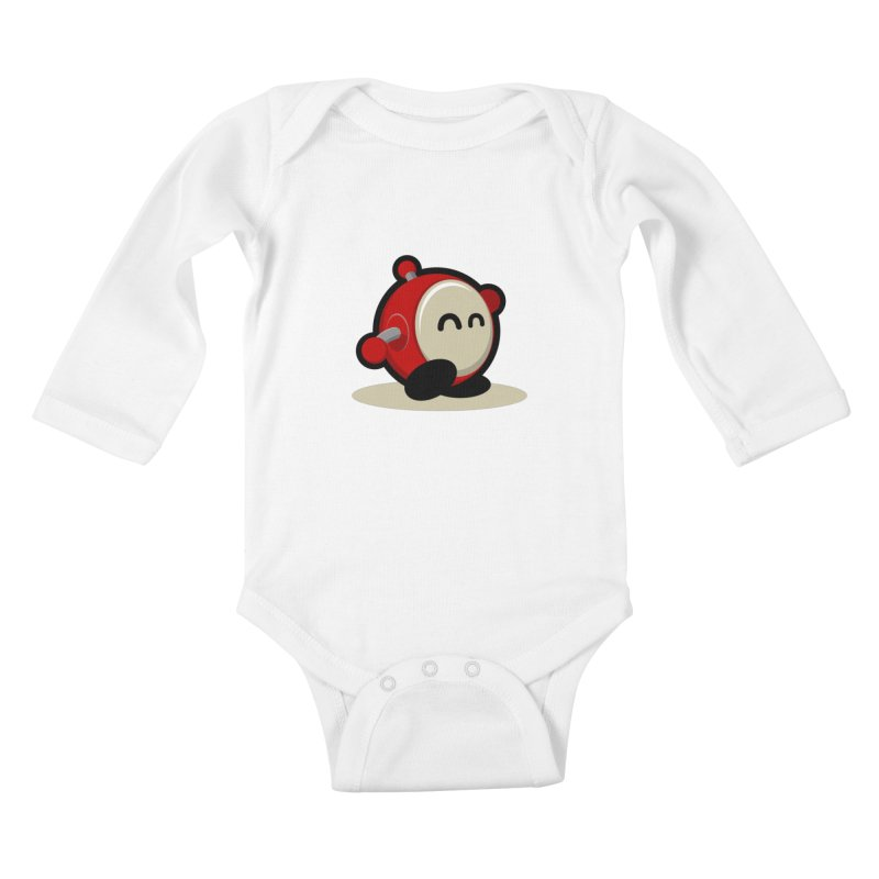 bobo the robo Kids Baby Longsleeve Bodysuit by bobo the robo shop