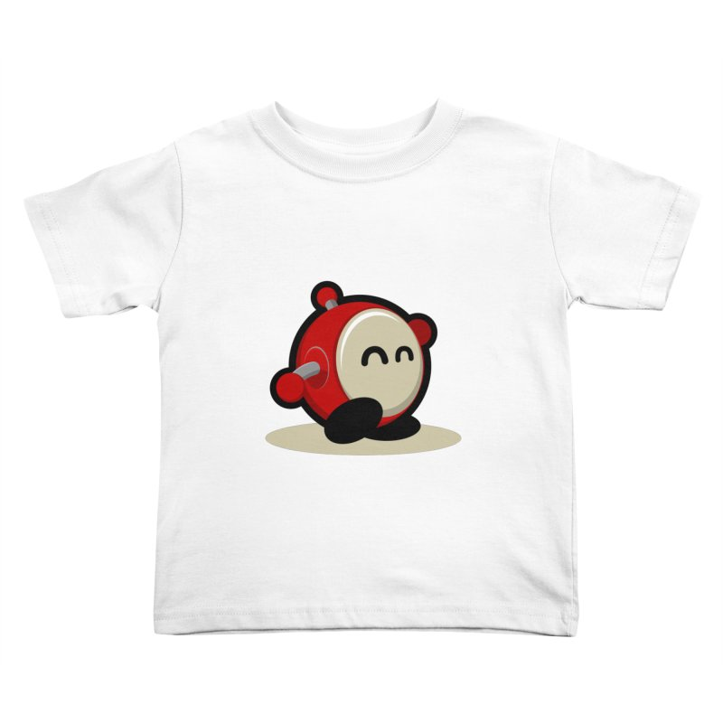 bobo the robo Kids Toddler T-Shirt by bobo the robo shop